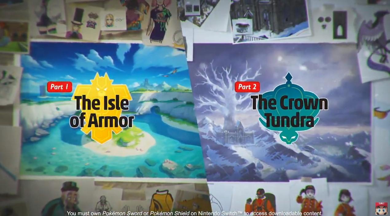 《寶可夢:劍/盾》首個付費擴展包公佈 兩個全新區域曝光