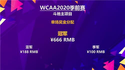 情人節來WCAA2020季前賽雲約會 贏現金紅包送禮不愁