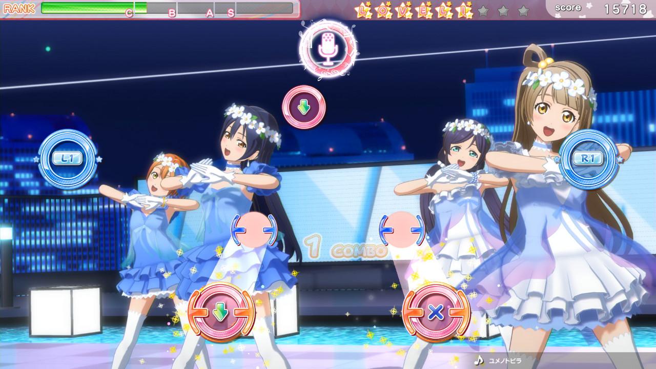 基本免费,《LoveLive!学园偶像祭》街机移植PS4版今日推出支援繁体中文